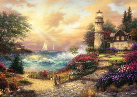 Grafika Puzzle 2000 db Chuck Pinson - Seaside Dreams
