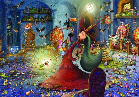 Grafika Puzzle 1500 db François Ruyer - Witch