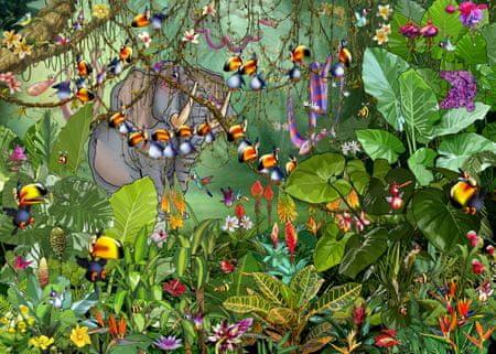 Grafika Puzzle 500 db François Ruyer - Jungle