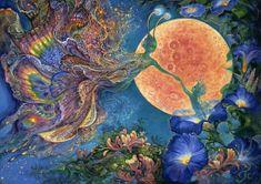 Grafika Puzzle 2000 db Josephine Wall - Moonlit Awakening