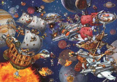 Grafika Puzzle 1000 db François Ruyer - Space Batttle
