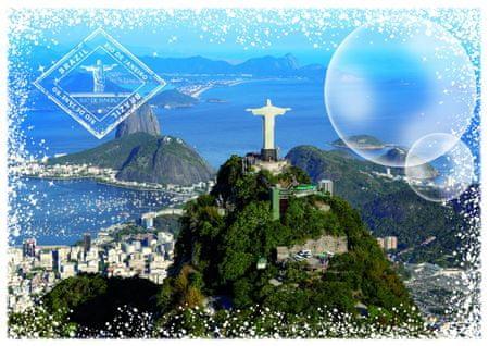Grafika Puzzle 2000 db Travel around the World - Brazil