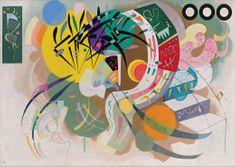Grafika Puzzle 1000 db Wassily Kandinsky - Dominant Curve, 1936