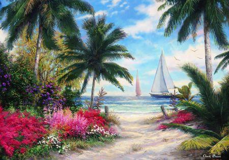 Grafika Puzzle 1000 db Chuck Pinson - Sea Breeze Trail