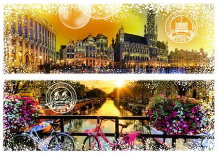 Grafika Puzzle 2000 db Travel around the World - Belgium and the Netherlan