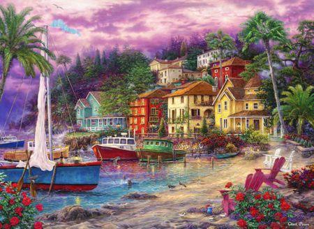 Grafika Puzzle 300 db Chuck Pinson - On Golden Shores