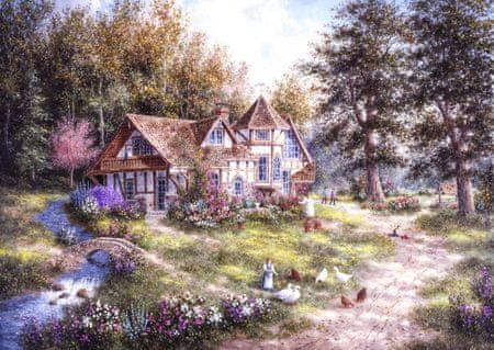 Grafika Puzzle 1000 dielikov Dennis Lewan - Glacier Ridge Manor