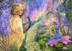 Grafika Josephine Wall: Wisteria Way 2000 dielikov