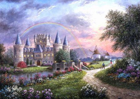 Grafika Puzzle 1000 dielikov Dennis Lewan - Inverary Castle