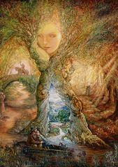 Grafika Josephine Wall: Willow World 1500 dielikov
