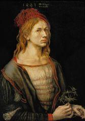 Grafika Puzzle 1000 db Albrecht Dürer - Self-portrait, 1493