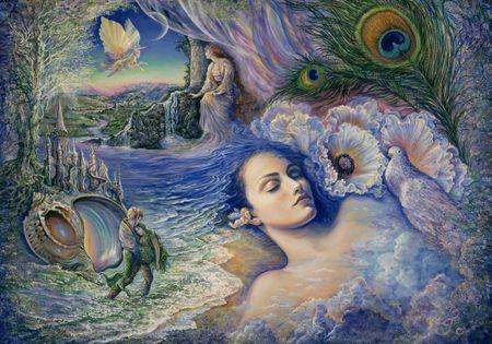 Grafika Puzzle 1000 db Josephine Wall - Whispered Dreams