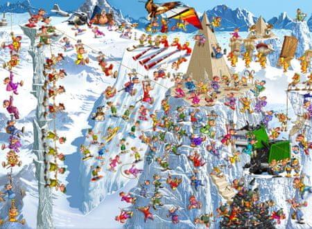 Grafika Puzzle 2000 db François Ruyer - Climbing