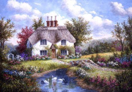 Grafika Puzzle 1000 db Dennis Lewan - Swan Creek Cottage