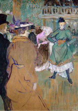 Grafika Puzzle 1000 db Henri de Toulouse-Lautrec: Quadrille at the Moulin