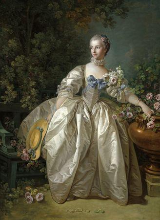 Grafika Puzzle 300 db François Boucher: Madame Bergeret, 1766