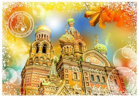 Grafika Puzzle 1000 db Travel around the World - Russia