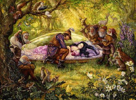 Grafika Puzzle 2000 dílků Josephine Wall - Snow White