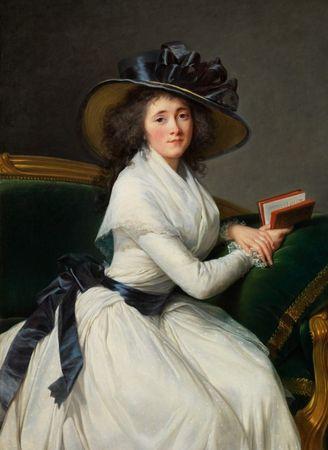Grafika Puzzle 300 dielikov Louise-Élisabeth Vigee le Brun : Comtesse de la Chât