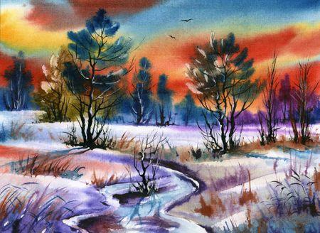 Grafika Puzzle 300 db Winter Water