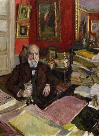 Grafika Puzzle 300 dielikov Edouard Vuillard: Théodore Duret, 1912
