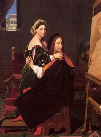 Grafika Puzzle 2000 dílků Jean-Auguste-Dominique Ingres: Raphaël and the Forn