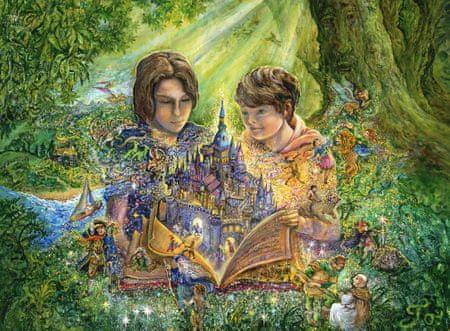 Grafika Puzzle 2000 dílků Josephine Wall - Magical Storybook