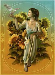 Grafika Dove of Love 2000 dielikov