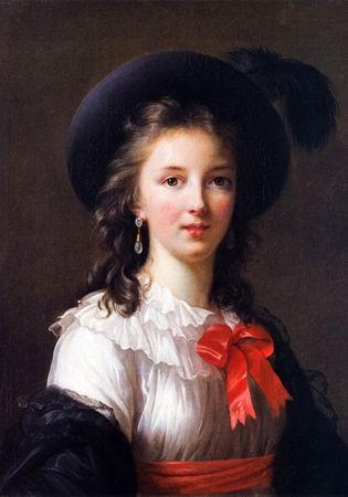 Grafika Selfportrait, 1781 II
