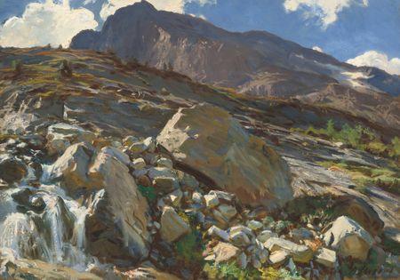Grafika Puzzle 1000 db John Singer Sargent: Simplon Pass, 1911