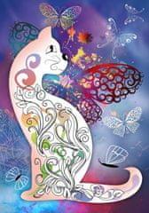 Grafika Cat and butterflies II 1000 dielikov