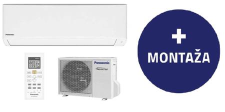 Panasonic klimatska naprava CS/CU-TZ42TKE z montažo