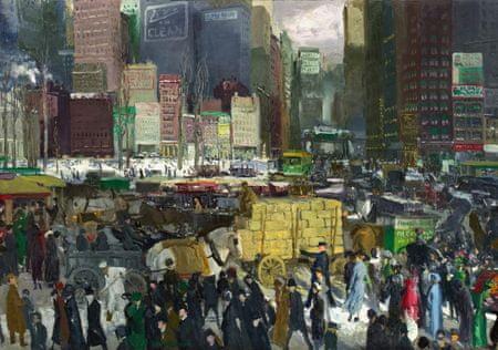 Grafika Puzzle 1000 db George Bellows : New York, 1911