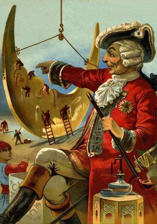 Grafika Puzzle 1000 db Gottfried Franz : Les Merveilleux Voyages du Baron