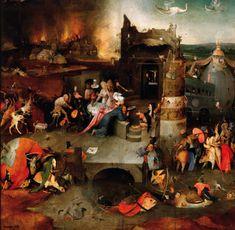 Grafika Puzzle 1500 dílků Bosch: The Temptation of Saint Anthony, 1495-1515