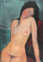 Grafika Puzzle 1000 db Amedeo Modigliani: Seated Nude, 1916
