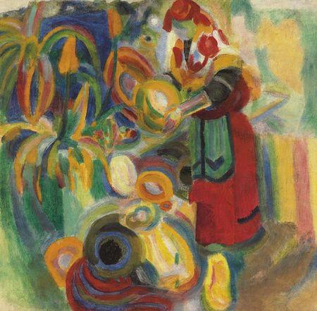 Grafika Puzzle 1500 db Robert Delaunay : La Grande Portugaise, 1915