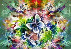 Grafika Puzzle 3900 dílků Spring Flowers and Butterflies