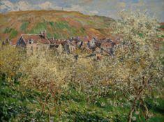 Grafika Monet: Pruniers en Fleur 2000 dielikov