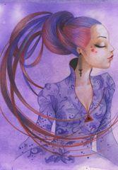 Grafika Puzzle 3900 dílků Misstigri: Violette