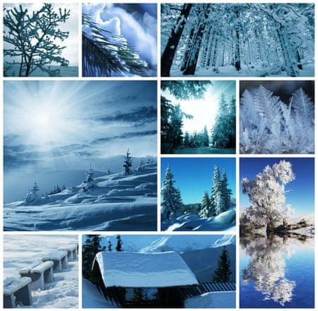 Grafika Puzzle 1500 db Winter Collage