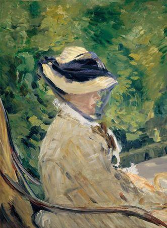 Grafika Puzzle 2000 dílků Edouard Manet - Madame Manet at Bellevue, 1880