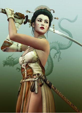 Grafika Puzzle 300 db Female Samurai