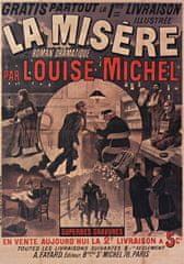 Grafika Puzzle 1000 db Affiche pour La Misère de Louise Michel, 1880