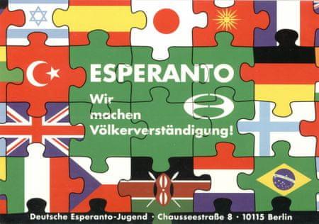 Grafika Puzzle 1000 db Ziko: Deutsche Esperanto Jugend