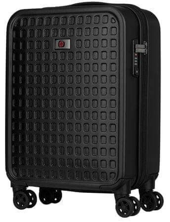 """Wenger MATRIX 20"""" utazó bőrönd, fekete"""