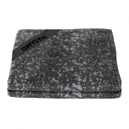 Mystic brisača Quickdry towel OS, 75 x 150, črna