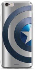 MARVEL Captain America 006 Zadný Kryt pre Huawei Y5 2018 Silver MPCCAPAM2481