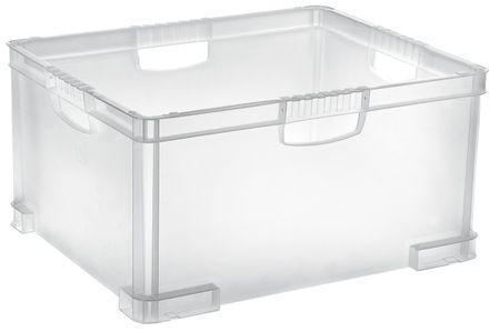 Tontarelli Box s rukojetí Aurora, 51L, transparent
