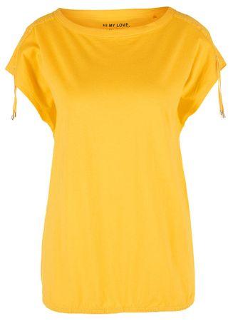s.Oliver koszulka damska 38 żółta